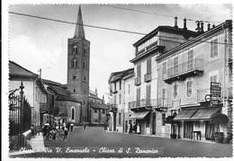 Chieri (Torino). Via Vittorio Emanuele - Chiesa Di San Domenico. - Italie