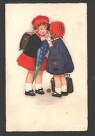 Kinderen / Enfants / Children - 1923 - Illustration F. B. - Scènes & Paysages