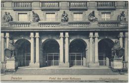 63-30 Germany Deutschland Dresden Portal Rathaus - Vari