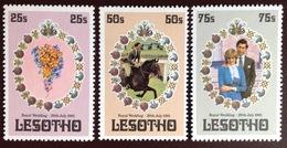 Lesotho 1981 Royal Wedding MNH - Lesotho (1966-...)