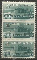 South Africa - 1942 Artillery 4d Strip MNH **   SG 103  Sc 95 - South Africa (...-1961)