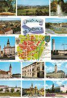 1 Map Of Austria * 1 Ansichtskarte Mit Der Landkarte - Stadtpllan Von St. Pölten * - Landkarten