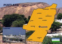 1 Map Of Puntland * 1 Landkarte Von Puntland (autonomes Gebiet In Somalia) Im Kleinen Bild Die Hauptstadt Garoowe * - Landkarten