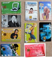 Lots De 9 Télécartes France - Télécartes