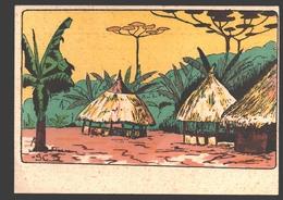 Afrique / Africa - Carte De Fantaisie / Phantasy Card / Fantasiekaart - 13,9 X 9,9 Cm - Cartes Postales