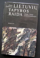 Lithuanian Book / Lietuvių Tapybos Raida 1987 - Bücher, Zeitschriften, Comics