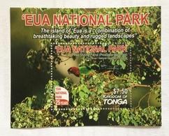 Tonga 2017; Fauna, EUA National Park, Birds, Parrots; MNH** VF; Scarce!! - Parrots