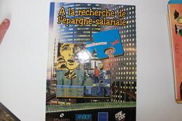 KRAEHN - STALNER  - BD Publicitaire - Disparition Autour D'un Accord D'interressement - ANDCP - CFE CGC - AFG-ASFFI - Livres, BD, Revues