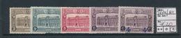 BELGIQUE BELGIUM  1929/33 ISSUES COB TR172/174 LH - Ferrovie