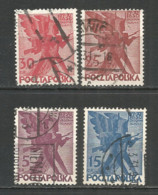 Poland 1930 Year, Used Stamps Set - 1919-1939 Republic