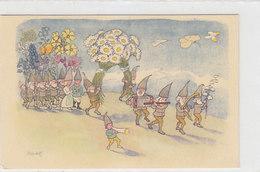 Frühling - Sign. Kreidolf      (190530) - Illustratori & Fotografie