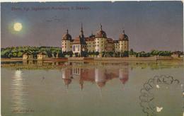 63-62 Germany Deutschland Dresden Jagdschloss Moritzburg  Sent To Estonia 1924 - Germania