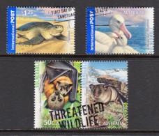 Australia 2007 Threatened Wildlife Set Of 4 Used - 2000-09 Elizabeth II