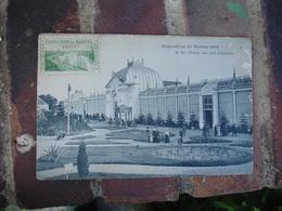 Erinnophilie Exposition 1904 Nantes Vignette Timbre Sur Carte - Commemorative Labels