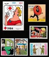 Joli Lot D'autocollants Tintin + Vignettes ( Voir Photos ) - Stickers