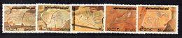 CI1341A - LIBIA LYBIA 1978 , Serie Yvert N. 669/673  ***  MNH  Archeologia - Archeologia