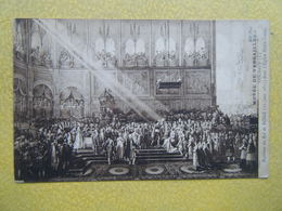 VERSAILLES. Le Château. Le Musée. Le Baptême Du Roi De Rome Par Goubaud. - Versailles (Schloß)