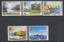 Great Britain 1981 Landscapes 5v ** Mnh (42930C) - 1952-.... (Elizabeth II)
