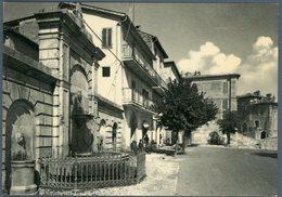 °°° Cartolina N. 2 Orvinio Piazza Garibaldi Nuova °°° - Rieti