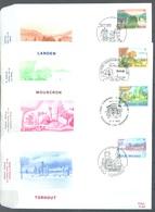 BELGIUM - 25.6.1983 - FDC - TOURISME - COB 2096-2099 - RODAN 691-694 -  Lot 19579 - FDC