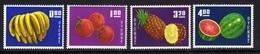 Taiwan Fruit Set 1964 Mnh. - Unused Stamps