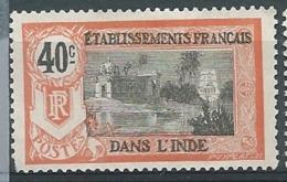 Inde Française     - Yvert N° 36  (*) -  Bce 20906 - India (1892-1954)