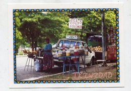 TRINIDAD & TOBAGO - AK 350908 Trinidad - Port Of Spain - Road Seller - Savannah - Trinidad