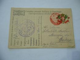 WW1 CARTOLINA POSTALE FRANCHIGIA FANTERIA ZONA DI GUERRA MACCAGNO VARESE - Guerra 1914-18