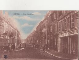 CPA - ORTHEZ - Rue St Gilles - Orthez