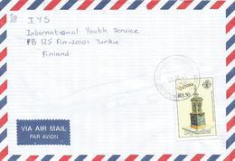 Seychelles 2001 Victoria Fountain Cover - Seychellen (1976-...)