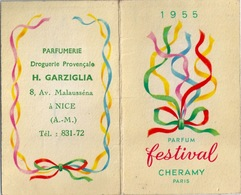 CALENDRIER 1955 NICE Festival - Calendarios