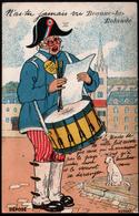45, Beaune La Rolande, Carte A Systeme, Le Tambour De Ville - Beaune-la-Rolande