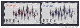 Europa Cept 1972 Ireland 2v ** Mnh (42932) - 1972