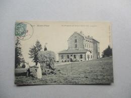 CP MONT PILAT : La Fenaison Au Grand Hôtel - Mont Pilat