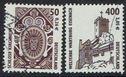 BRD, 2001, MiNr 2210,2211, Gestempelt - Gebraucht