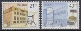 Europa Cept 1990 Iceland 2v  ** Mnh (42932G) - 1990