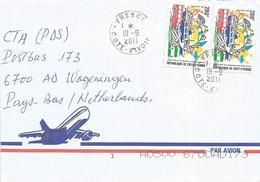 Cote D'Ivoire 2011 Fresco UPU Postal Congress Cover - UPU (Union Postale Universelle)