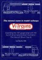 Catalogue VITRAINS Models OO Gauge 2008 Last Quarter Locomotive Class 47 - Boeken En Tijdschriften