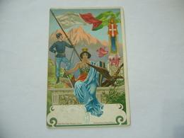 WW1 CARTOLINA GUARDIA DI FINANZA - Italia, Riposa Tranquilla Salvi - Guerra 1914-18