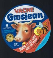 Etiquette Fromage  Fondu Pour Tartines   Vache  Gosjean Maya Et Ses Amis Font Du Sport 8 Portions 14mar80 - Fromage