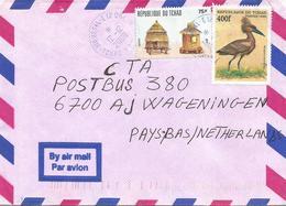 Tchad 2000 Moursal Hammerhead Scopus Bird Granery Agriculture Cover - Kranichvögel