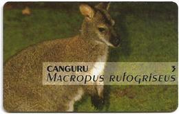 Portugal - PT - Lisboa's Zoo - Kangaroo - PT043 - 50 Units, 13.000ex, 05.1995, Used - Portugal