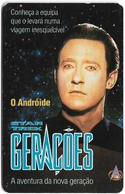 Portugal - PT - Star Trek - O Androide - PT024 - 50Units, 13.000ex, 03.1995, Used - Portugal