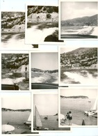 Photo Originale Lot De 9 Photos Ski Nautique Villefranche Sur Mer 1966 - Deportes