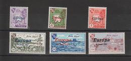 Europa 1961 Hern Island 6 Val ** MNH - Europa-CEPT