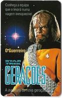 Portugal - PT - Star Trek - O Guerreiro - PT029 - 50Units, 13.000ex, 03.1995, Used - Portugal