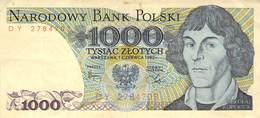 1000 Zloty Polen VF/F (III) 1982 - Polen