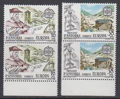 Europa Cept 1983 Andorra Sp. 2v (pair) ** Mnh (42932S) - 1983