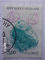 FRANCE N°2432 - FLUORITE - Minerals