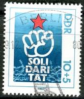 DDR - Mi 2548 - OO Gestempelt (A) - 10+5Pf                 Internationale Solidarität 80 - [6] Oost-Duitsland